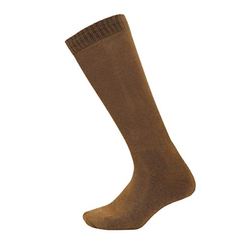 Rothco Moisture Wicking Military Sock, Hiking Boot Sock, 3-Pack, Coyote Brown, M