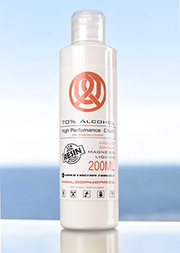 LOOP WEAR Magnesio liquido 200 ml 70% Higieneizante y bactericida 99,9%