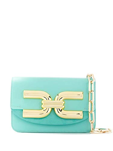 Elisabetta Franchi Luxury Fashion Donna BS47A02E2Y04 Azzurro Ecopelle Borsa A Spalla | Primavera-estate 20