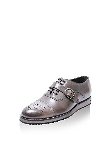 PAPUCEI Chaussures /à Lacets Femme Blanc Casse