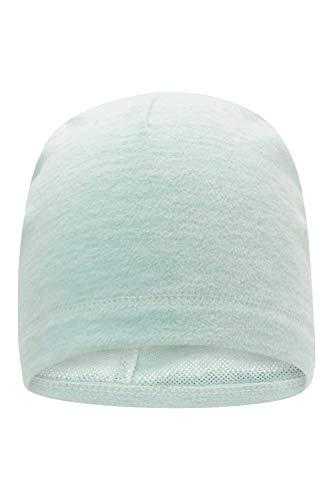 Mountain Warehouse Damen-Thermo-Fleecemütze – warme Winterkappe für Damen, atmungsaktiver, pflegeleichter Hut - ideal auf Reisen, beim Wandern und Camping Minze Einheitsgröße