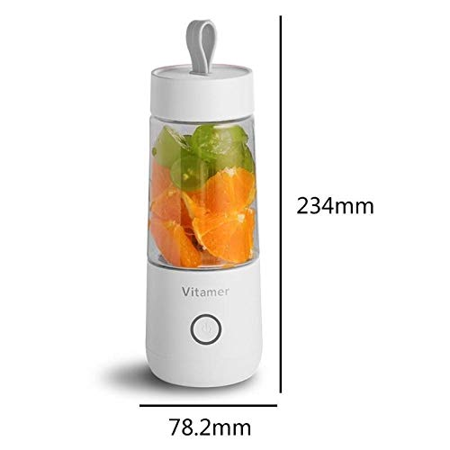 Fantastic Prices! 350ml Portable Juicer Cup Blender Wireless Automatic Multipurpose USB Rechargeable...