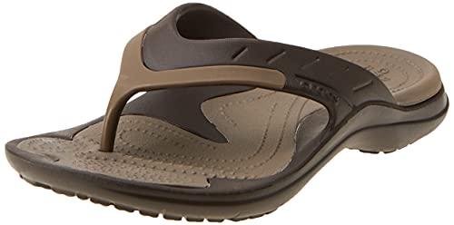 Crocs Unisex Adults Modi Sport Flip, Espresso/Walnut, M5W7