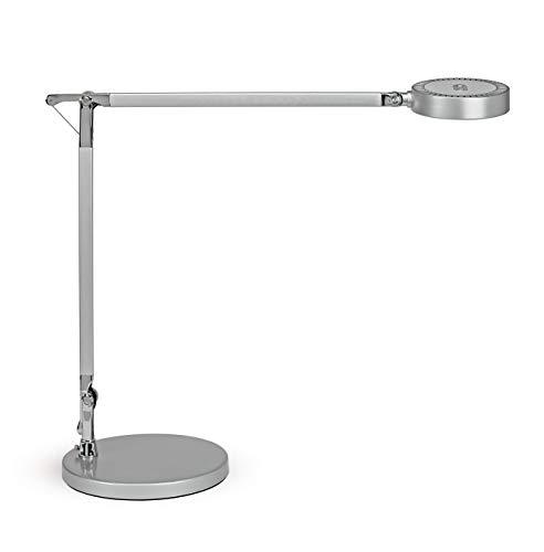LED-Tischleuchte Maulgrace Colour Vario, Tischlampe aus Aluminium, Dimmbar, 44 cm Höhe, 1400 Lux [Energieklasse A]