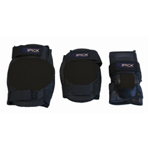 Atipick Pat61011 Pack da Protezioni, Nero, Unica