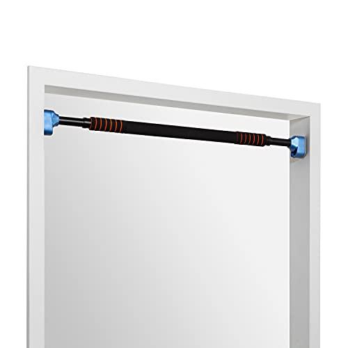 BoarderKING Klimmzugstange für den Türrahmen ohne Schrauben oder Bohren, mit Absturzsicherung und Handpolster, belastbar bis 300kg, inkl. Trainings- und Montagevideo