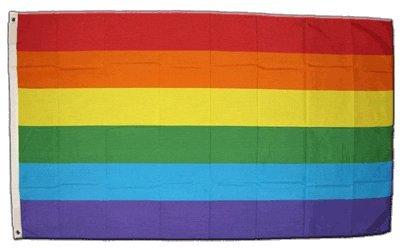 XXL Flagge Fahne Regenbogen 150 x 250 cm
