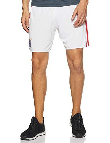 adidas Herren Fußball/Heim-shorts FC Bayern München Replica Heimshorts, White/Fcb True Red, XL