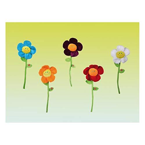 Ootb - Peluche flor blanca con música