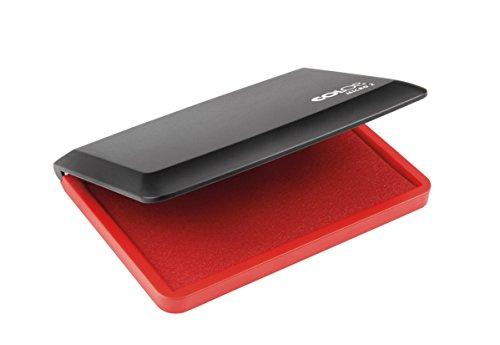 Colop - Cuscinetto per timbri Micro 2 con tampone in feltro, 11 x 7 cm 1 rosso