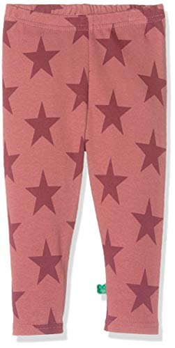 Fred'S World By Green Cotton Star Leggings Baby, Rouge (Dream Rose 018143501), 58 (Taille Fabricant: 56) Bébé Fille