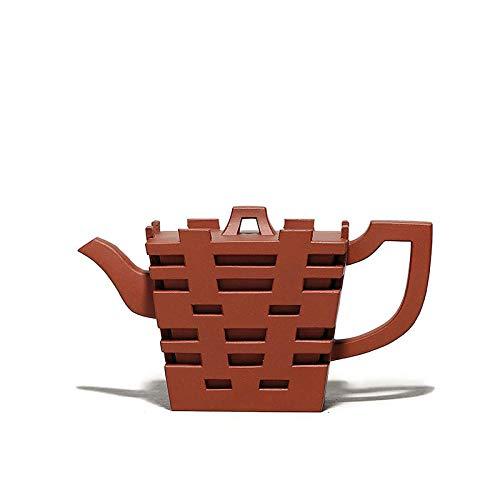 Hecha A Mano Zisha Tetera Purple Clay Teapot Handmade Teapot