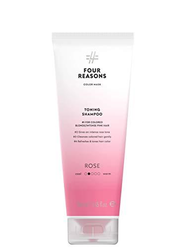 Color Mask Shampoo - Sulfate Free Toning Pink Shampoo for Pink Hair - Color Depositing Pink Shampoo, VEGAN, 8.5 oz (PINK)