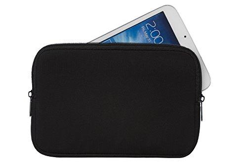 Elegante Reissverschluss Tablet PC Notebook Tasche Schutz Hülle schwarz geeignet für