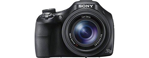 Sony DSC-HX400V Digitalkamera (20.4 Megapixel, 50-fach opt. Zoom, 7,5 cm (3 Zoll), WiFi/NFC) schwarz