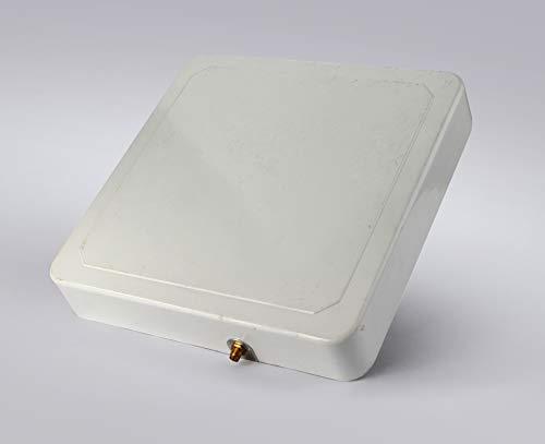 RFID Reader Antenne, bestga bsra-02sr IP65865–868MHz 6dbic Zirkular RFID ANTENNE mit sma-50kfd Stecker geeignet für Eingang, Lager Management, Logistik und Verkaufsartikel Management und etc.