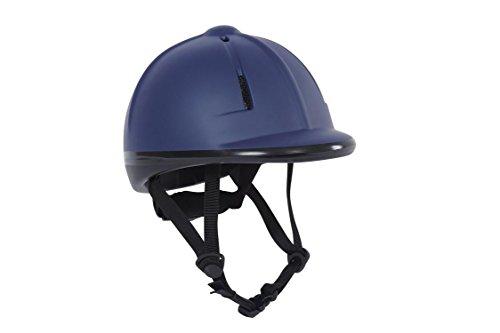 Dublin Opal Helmet Adults, SEI Certified Horseback Riding Head Gear, for Equestrian Schooling, Navy Small