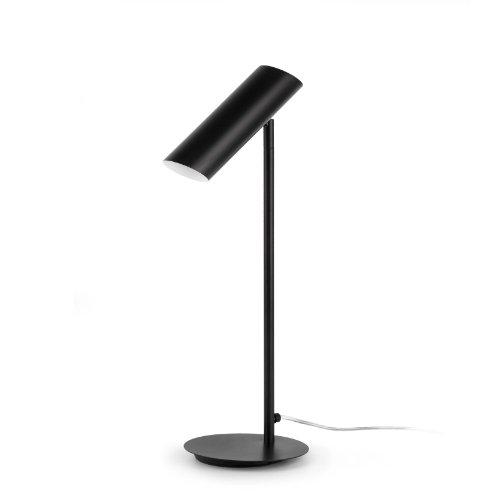 FARO BARCELONA 29882 - Link Lámpara Sobremesas y lámparas de pie, Acero, Color Negro (Bombilla no incluida)