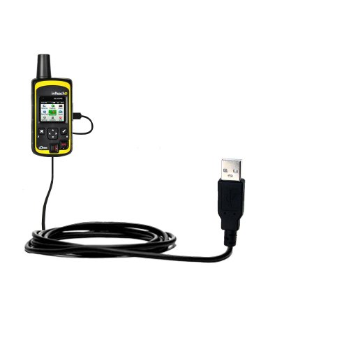 Classic Straight USB Cable Suitable for The Delorme inReach SE with Power Hot Sync and Charge Capabilities - Uses Gomadic TipExchange Technology