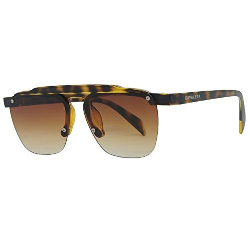 Óculos de sol, Hanna, Cavalera, Retangular, Feminino, Tartaruga, Único