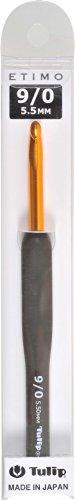 かぎ針 ETIMO (エティモ) クッショングリップ付きかぎ針 9/0号 Tulip チューリップ