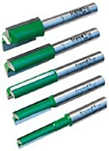 Trend SET/MT1X1/4TC Carbide Tipped Router Bit Set for MT/JIG, 1/4-Inch Shank, 5-Piece