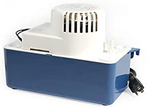 Condensate Pump - for Dehumidifier, Ice Maker, AC, Furnace, Condensations, Drain, Overflow, Air Conditioner. (115 V) W/Check Valve Safety Switch