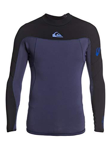 Quiksilver Mens 1Mm Syncro - Long Sleeve Neoprene Surf Top for Men Long Sleeve Neoprene Surf Top Black XXL