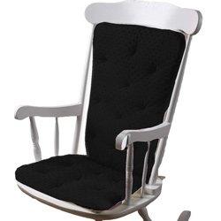 BabyDoll Bedding Minky Dot Cushion Ranking TOP4 Chair Black depot Rocking