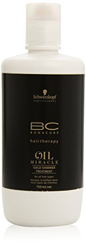 Schwarzkopf Bonacure Miracle Oil Gold Shimmer Treatment, 1er Pack, (1x 0,75 L)