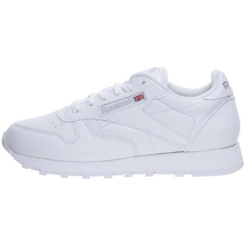 Reebok Classic Leather - Zapatillas de Running, Mujer, Blanco (Intense White), 38 EU / 5 UK / 7.5 US