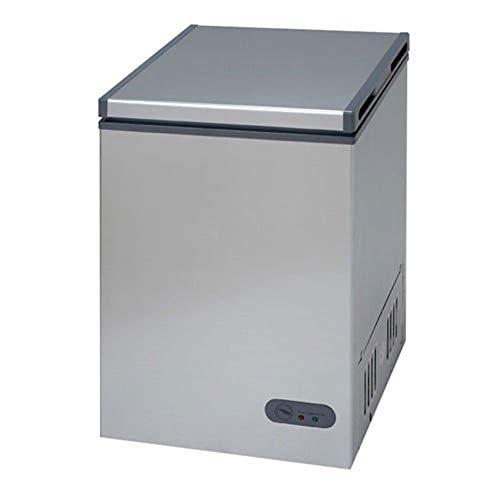 Avanti CF35B2P 3.5 Cubic Foot Stand Alone Upright Chest Deep Freezer, Platinum