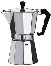 Lorenlli Koffiezetapparaat Aluminium Mokka Espresso Percolator Pot Koffiezetapparaat Moka Pot Espresso Shot Maker Espresso Machine