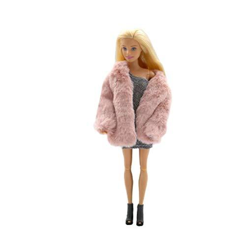 Barbie Ropa y Accesorios Multicolores de la Manga Larga Ropa Suave Ropa...