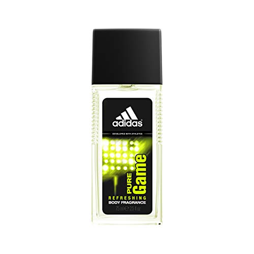 Adidas Fragrance Body Fragrance, Pure Game, 2.5 Fluid Ounce