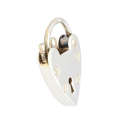 Colgante de plata de ley con forma de corazón para mujer (14 x 20 mm)   Jollys Jewellers