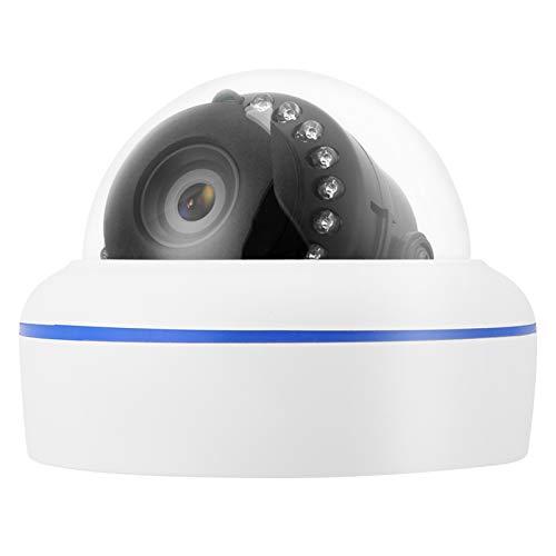 PLLO Cámara Domo de Seguridad, cámara Domo Impermeable, Soporte de visualización remota para Interiores y Exteriores