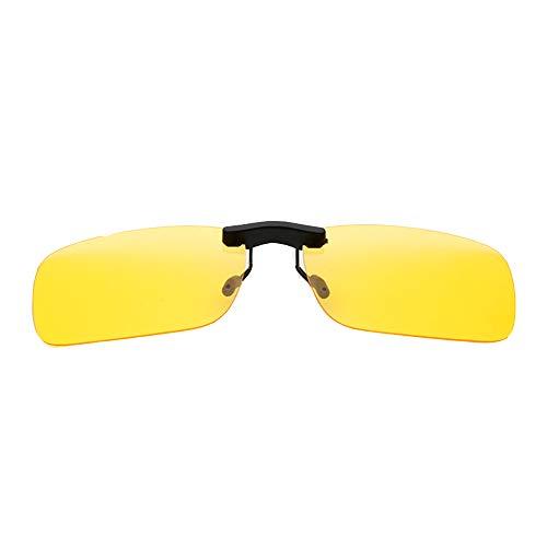 GEMSeven Clip Polarizado En Gafas De Sol Anti-uv Lente De Visión Diurna/Nocturna...