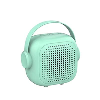 Bluetooth Speaker Cartoon Creative Macaron Mini Bluetooth Small Speaker Portable Portable Green