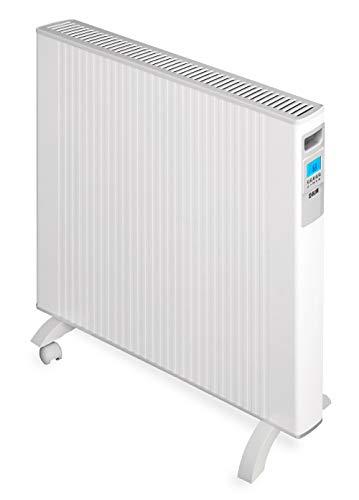 HJM Emisor térmico móvil de bajo consumo ALEA 2000 W | Pantalla LCD Programable | Diseño extraplano