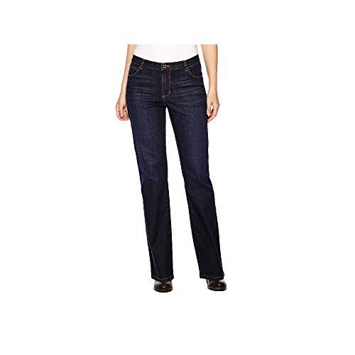 LEE Women's Relaxed Fit Straight Leg Jean, Verona, 10 Petite