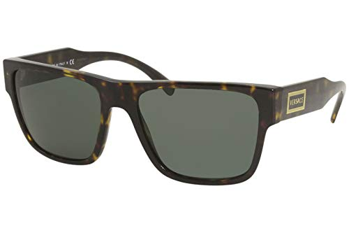 Versace Unisex 0VE4379 Sonnenbrille, Havana (108/71), 56