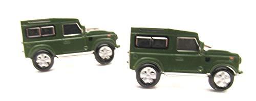Van Buck Manschettenknöpfe Auto Grün