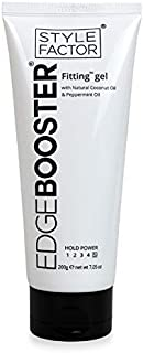 STYLE FACTOR EDGE BOOSTER FITTING GEL7.05OZ NATURAL COCONUT & PEPPERMINT OIL