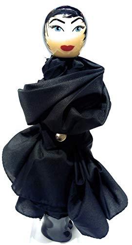 Pylônes, Taschenschirm Schwarz Schwarz