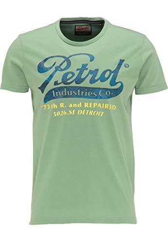 Petrol Industries MEN Herren 8720056226453 T-Shirt, Light Pine, XXL (71er Pack)