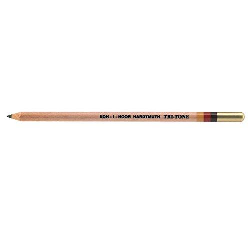 Koh-I-Noor Tritone Pencil Earthtones