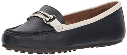 Aerosoles Women's Along Driving Style Loafer, Navy Combo, 5.5 M US