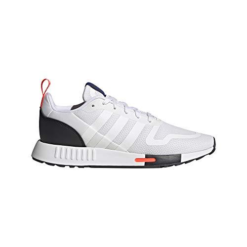 adidas Smooth Runner, Zapatillas de Running, FTWR White Core Black-Reloj de Pulsera para Hombre, 40 2/3 EU