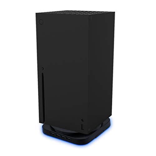 Mcbazel Supporto Verticale Blu Chiaro Supporto per Vonsole di Gioco con HUB USB2.0 a 4 Porte per Xbox Series X